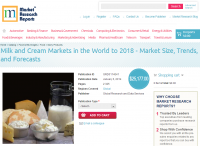 Milk and Cream Markets in the World to 2018