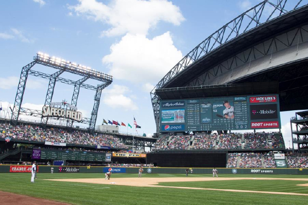 Lighthouse LED Display Powered by Cree at Safeco Field