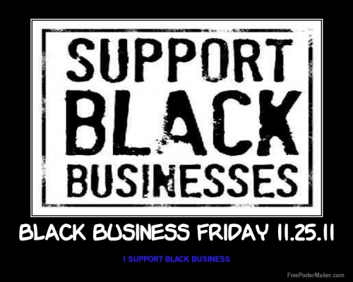I Support Minority Owned Small Business'