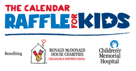 Calendar Raffle for Kids'