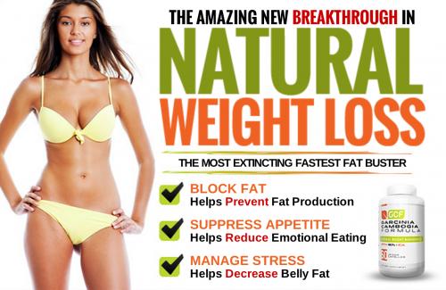 Natural weight loss supplement'