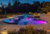 Luxury swimming pool lighting design ideas'