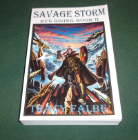 Paperback Savage Storm by Tracy Falbe