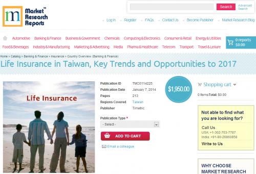 Life Insurance in Taiwan'