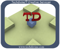 Logo for Techdivine Creative Services'