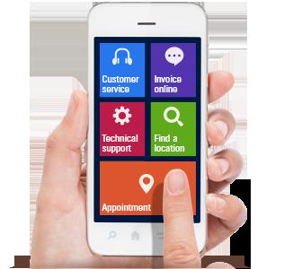 Visual IVR Solution for mobile custoimer service'