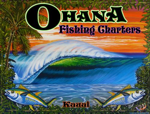 Company Logo For Ohana Fishing Charters'