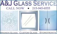 A & J Glass Logo