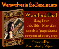 Werewolves in the Renaissance Blog Tour