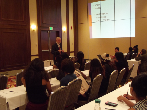 Dean of LIM Teaching a Workshop at 2013 Expo'