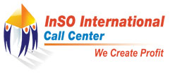 Logo for Inso International Call Center'