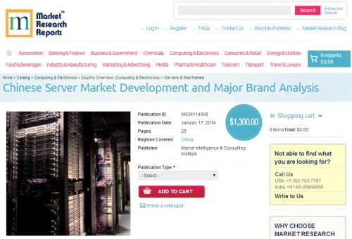Chinese Server Market Development and Major Brand Analysis'