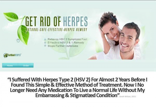 Get Rid of Herpes Review - Relieves HSV 2 Symptons Fast.'
