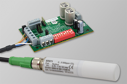 EE870 Modular CO2 transmitter from E+E Elektronik.'