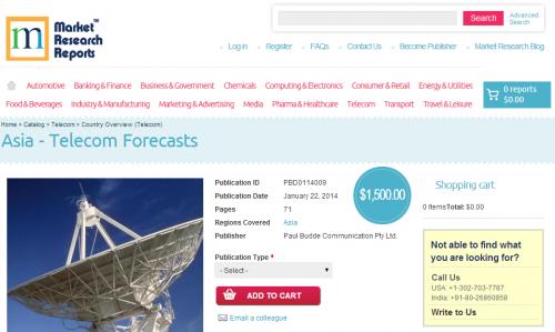 Asia Telecom Forecasts'