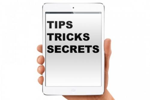 iPad Mini Tricks'