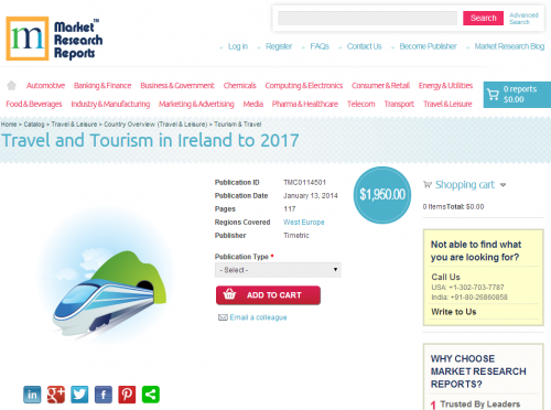 Travel and Tourism in Ireland to 2017'