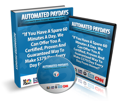 Automated Paydays Review Released by Jamie Shaw: Automated P'
