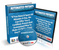 Automated Paydays Review Released by Jamie Shaw: Automated P