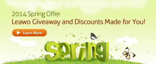Leawo Spring Giveaway'