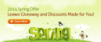 Leawo Spring Giveaway