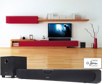 Pioneer SP-SB23W: High Definition Surround Sound and Dolby D'