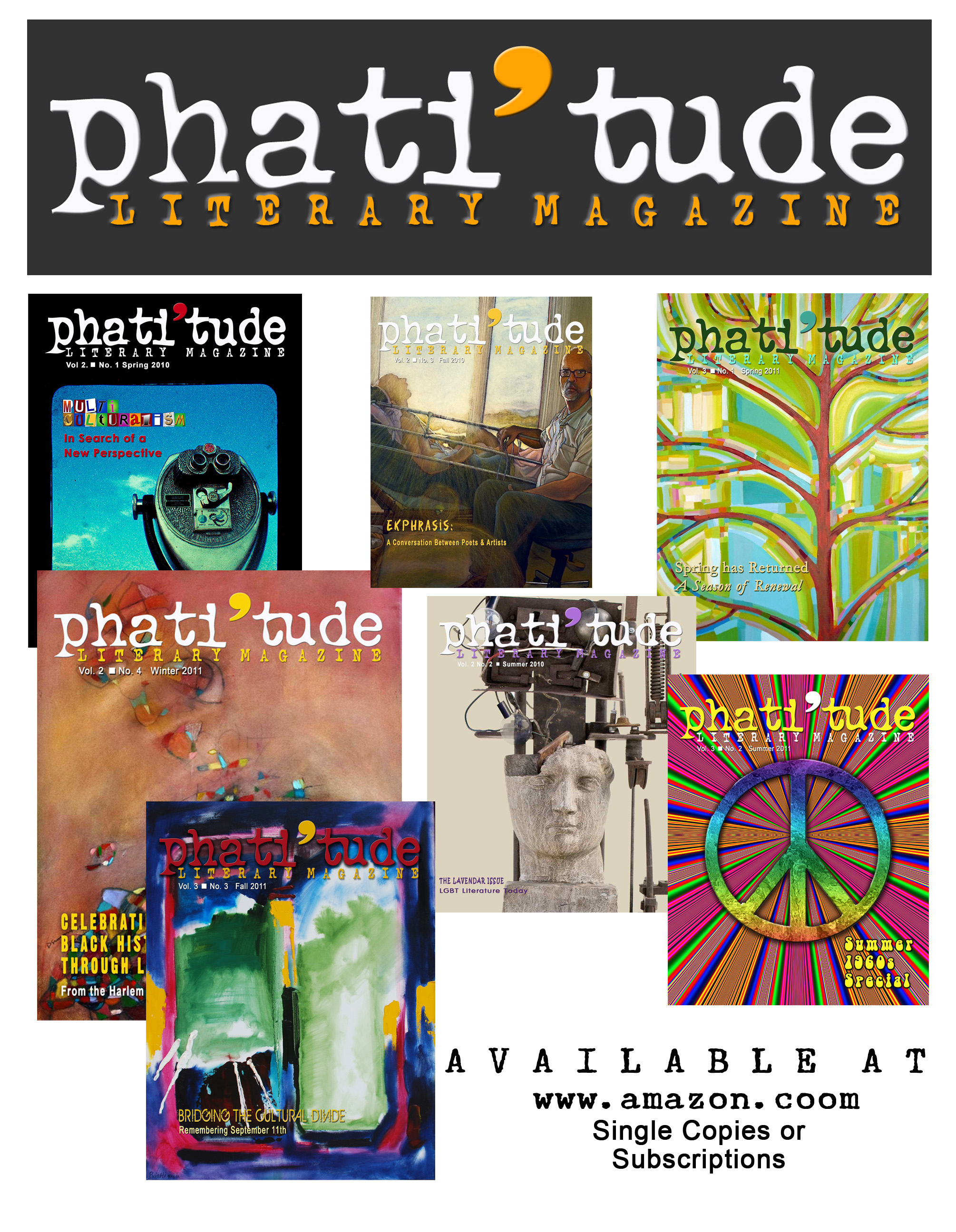 phati'tude Literay Magazine Covers 11.11
