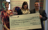 Cheque Presentation from DigiPrint Graphics