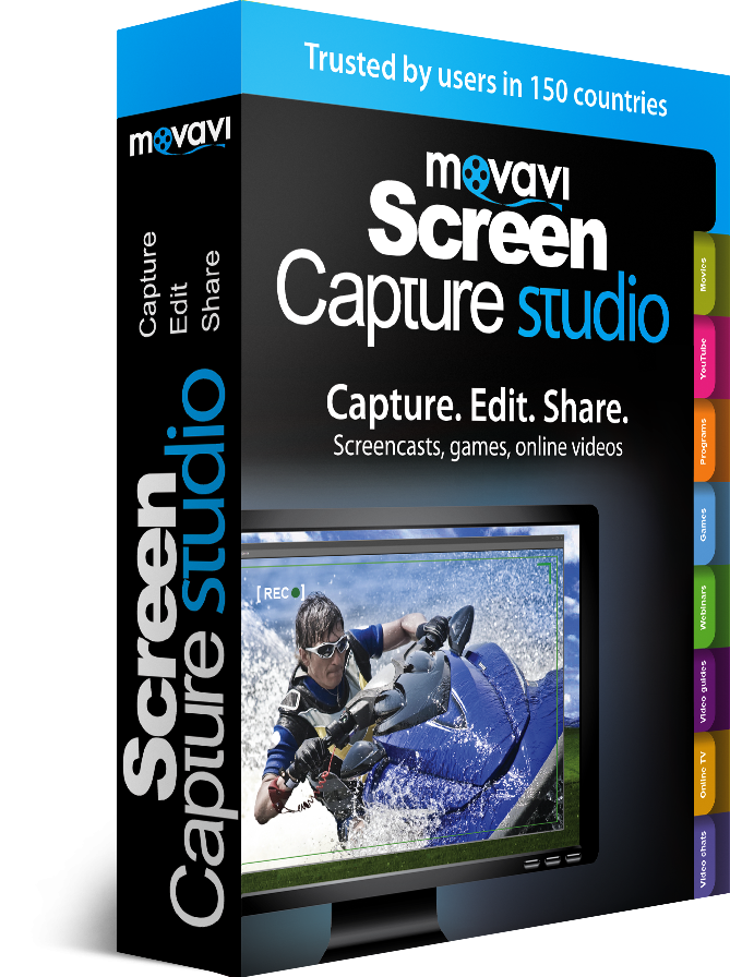 Movavi Screen Capture Studio box