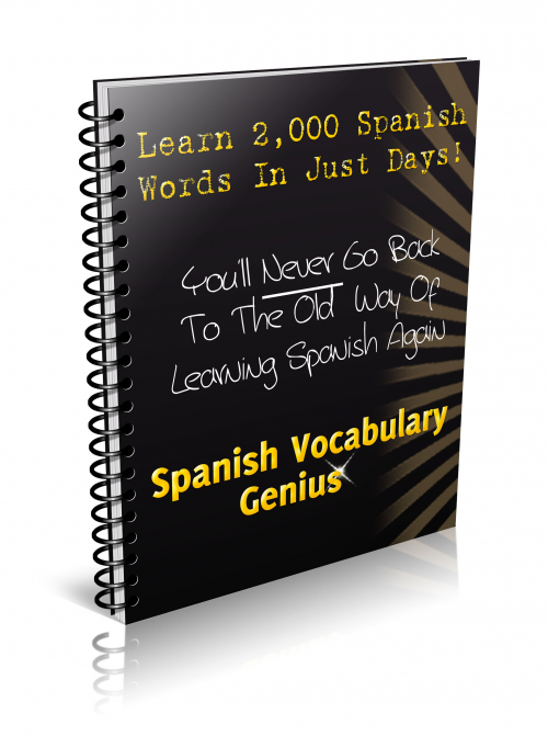 Spanish Vocabulary Genius program'