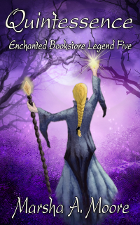 Cover art for Quintessence: Enchanted Bookstore Legend Five