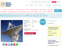 Pharmaceutical Business Confidence Report Q1 2014