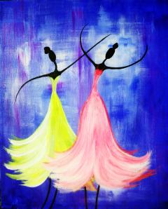 Graceful Dancers'