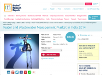 Water and Wastewater Management Market in India 2014