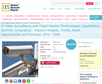 IP Video Surveillance and VSaaS Market (Technologies, Applic