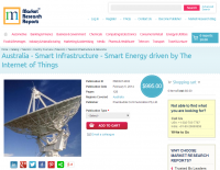 Australia - Smart Infrastructure - Smart Energy driven Thing