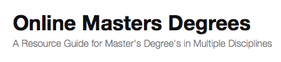 Online Masters Degrees'