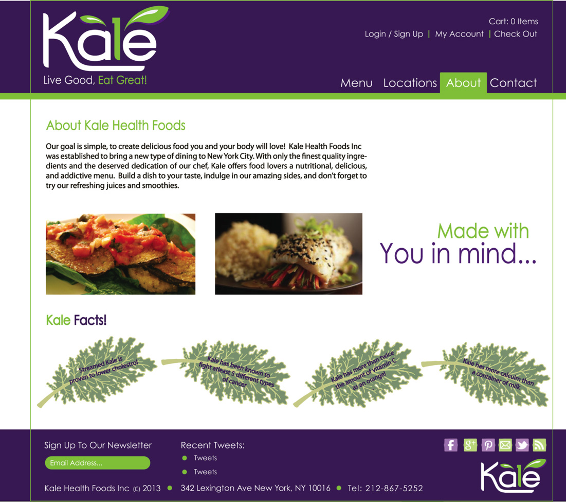 Kale Health Food