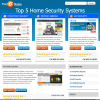 Top 5 Home Security Systems