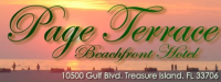 Page Terrace Beachfront Hotel Logo