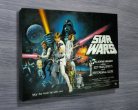 Blue Horizon Prints Star Wars Canvas Art