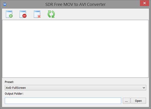 Convert MOV to AVI'