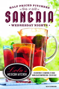 Lola's Mexican Kitchen Half Priced Sangria Pitchers