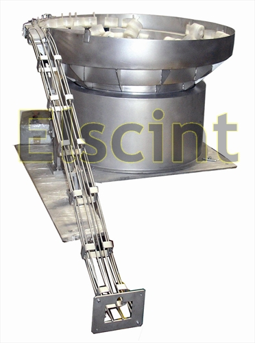 Elscint Vibratory bowl feeder'