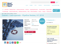 Diabetic Gastroparesis Pipeline Review, H1 2014