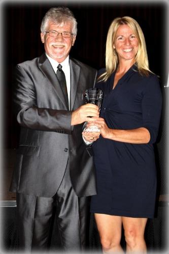 CEO Survival Strategies awarding Christina Panetta PT'