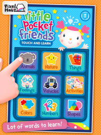 Little Pocket Friends Touch and Learn