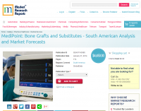 Bone Grafts and Substitutes - South American Analysis