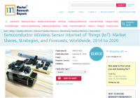 Semiconductor Wireless Sensor Internet of Things