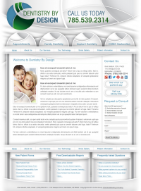 Dentistry by Design Website